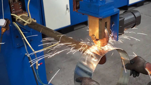 What is seam welding?