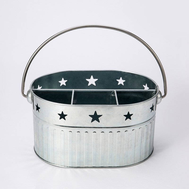 Better Homes and Gardens Galvanized Steel Utensil Caddy