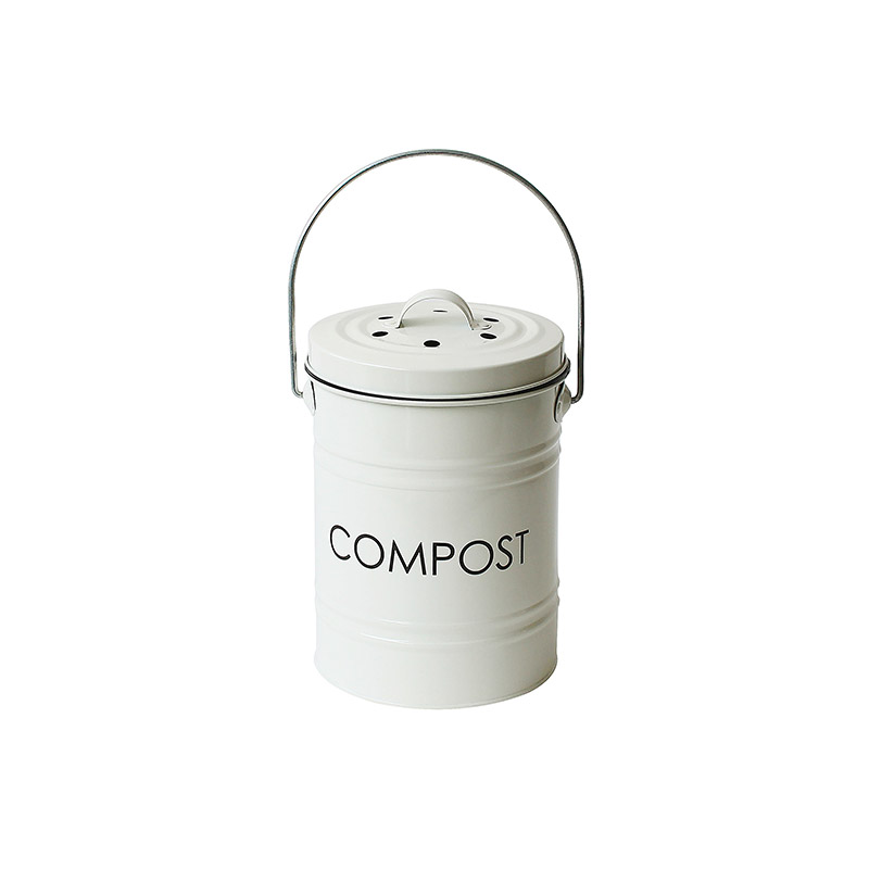 Metal Kitchen Compost With filter