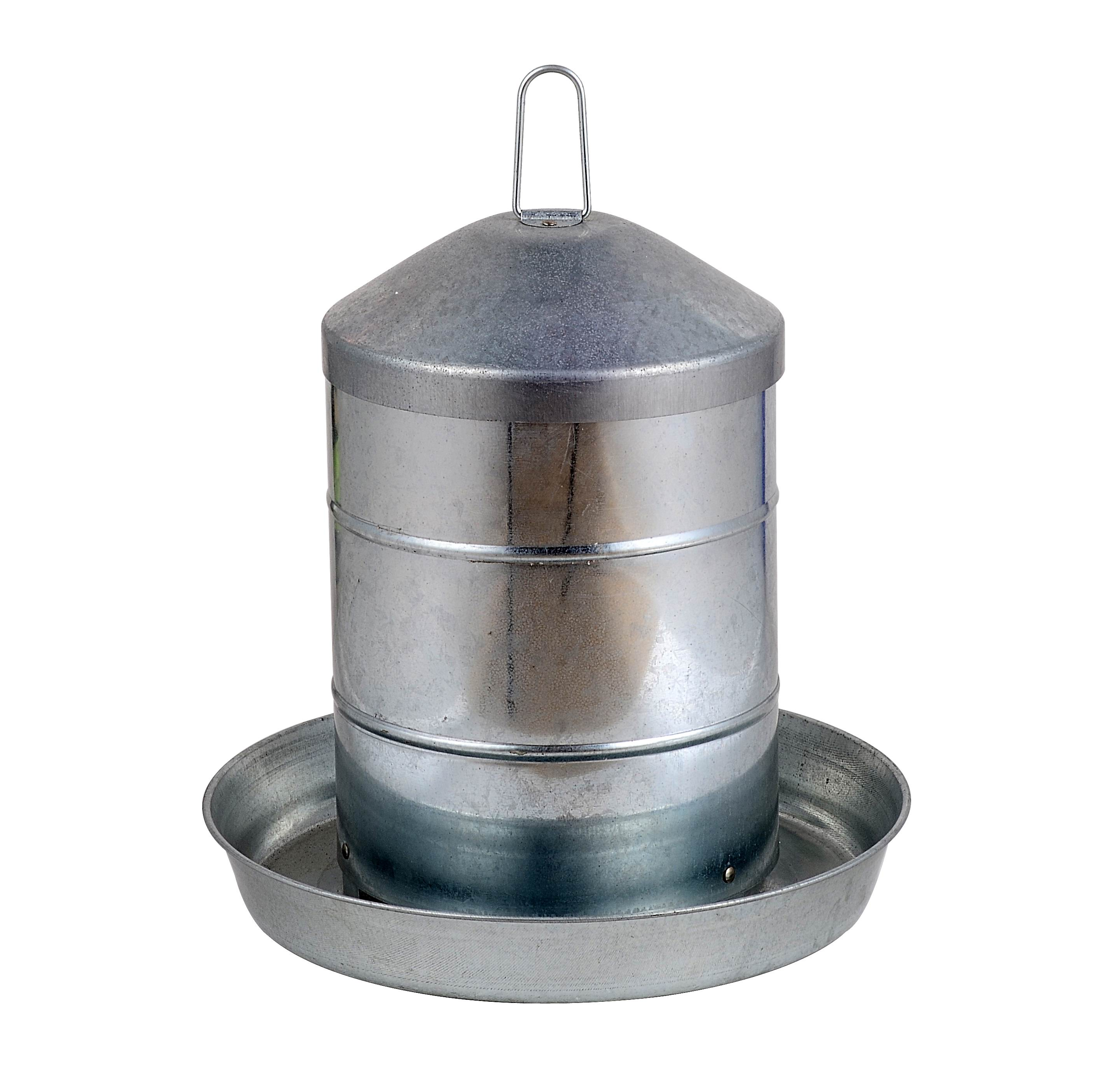 12KGS Hanging Galvanized Feeder