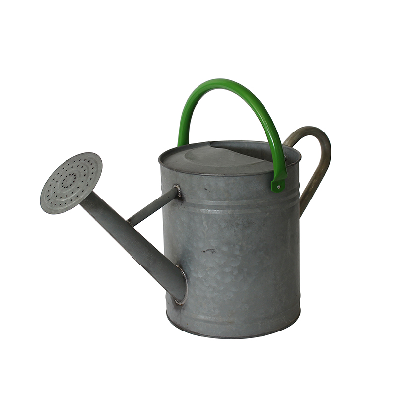 10l antique finish galvanized steel watering can - Garden Watering Can