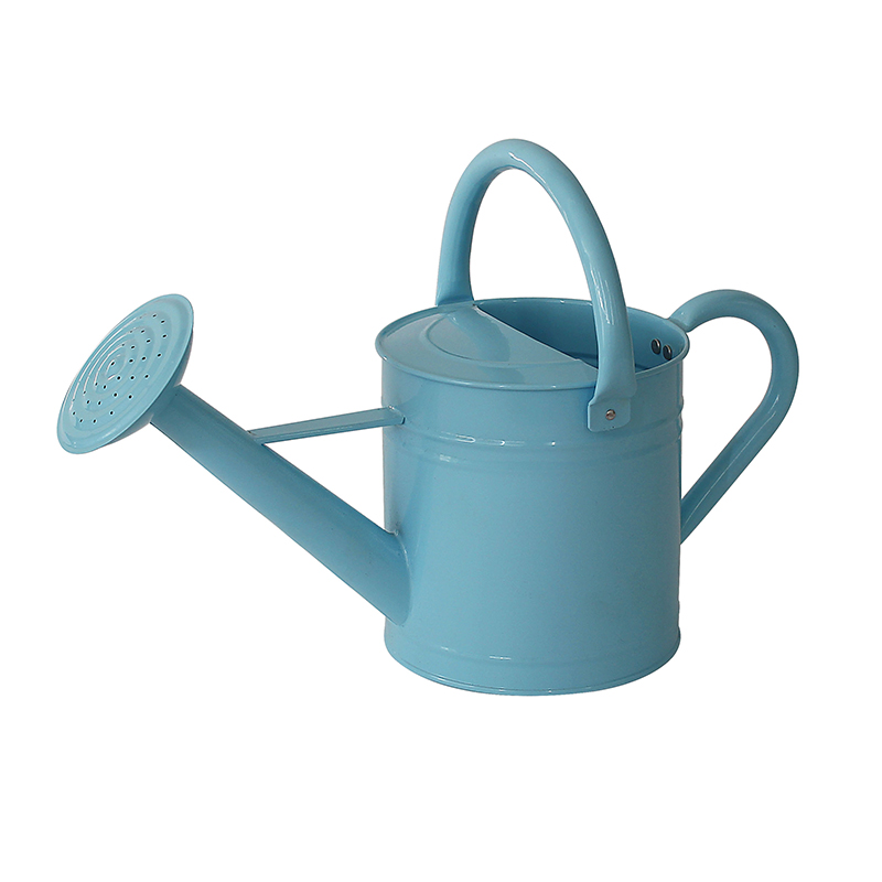 Kids size power coated galvanized watering can