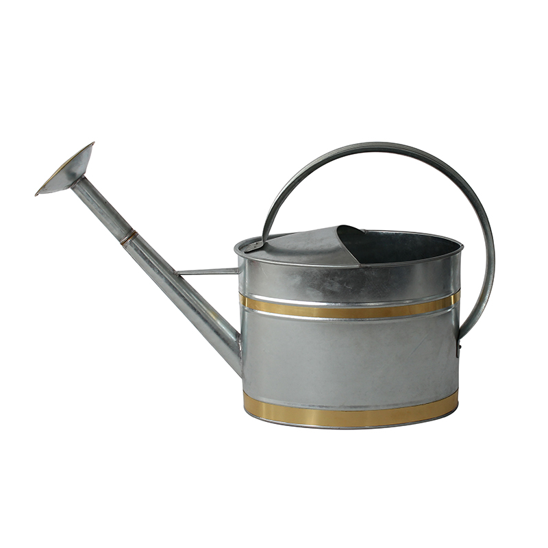 Traditional Galvanised Metal Watering Can