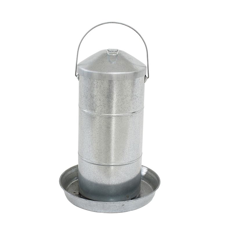 20KGS Double Wall Metal Poultry Drinker
