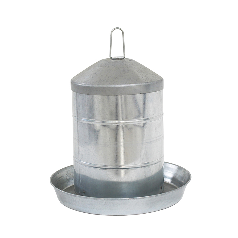 15KG Galvanized Steel Poultry Feeder