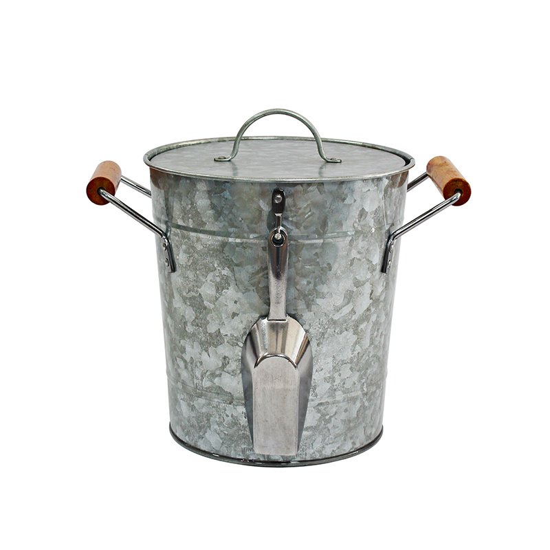 Manufacturer wholesale galvanized metal champagne bucket