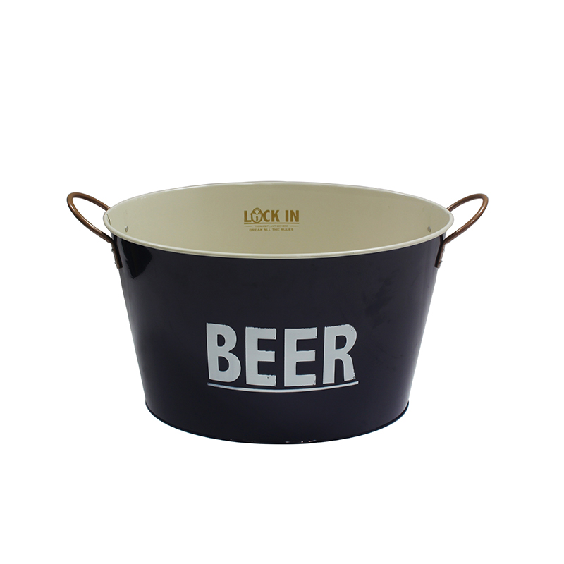 Holds Wine Champagne galvanized beer tub