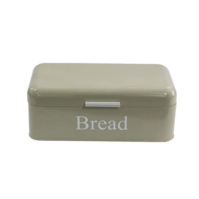 Home Basics metal vintage bread box