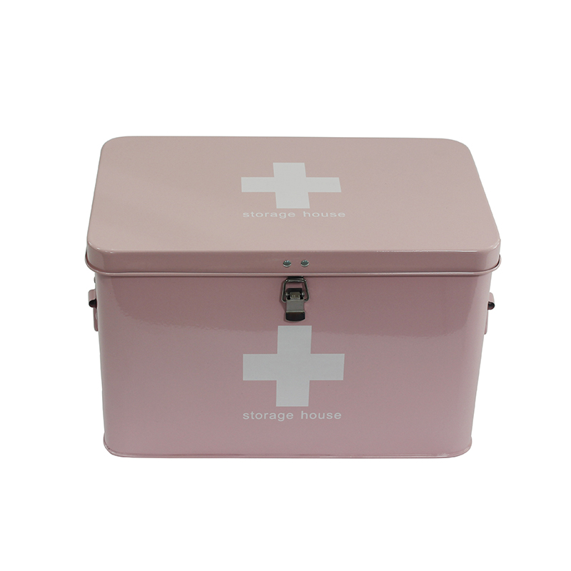Metal Multifunctional Storage Medicine Box first aid kit box