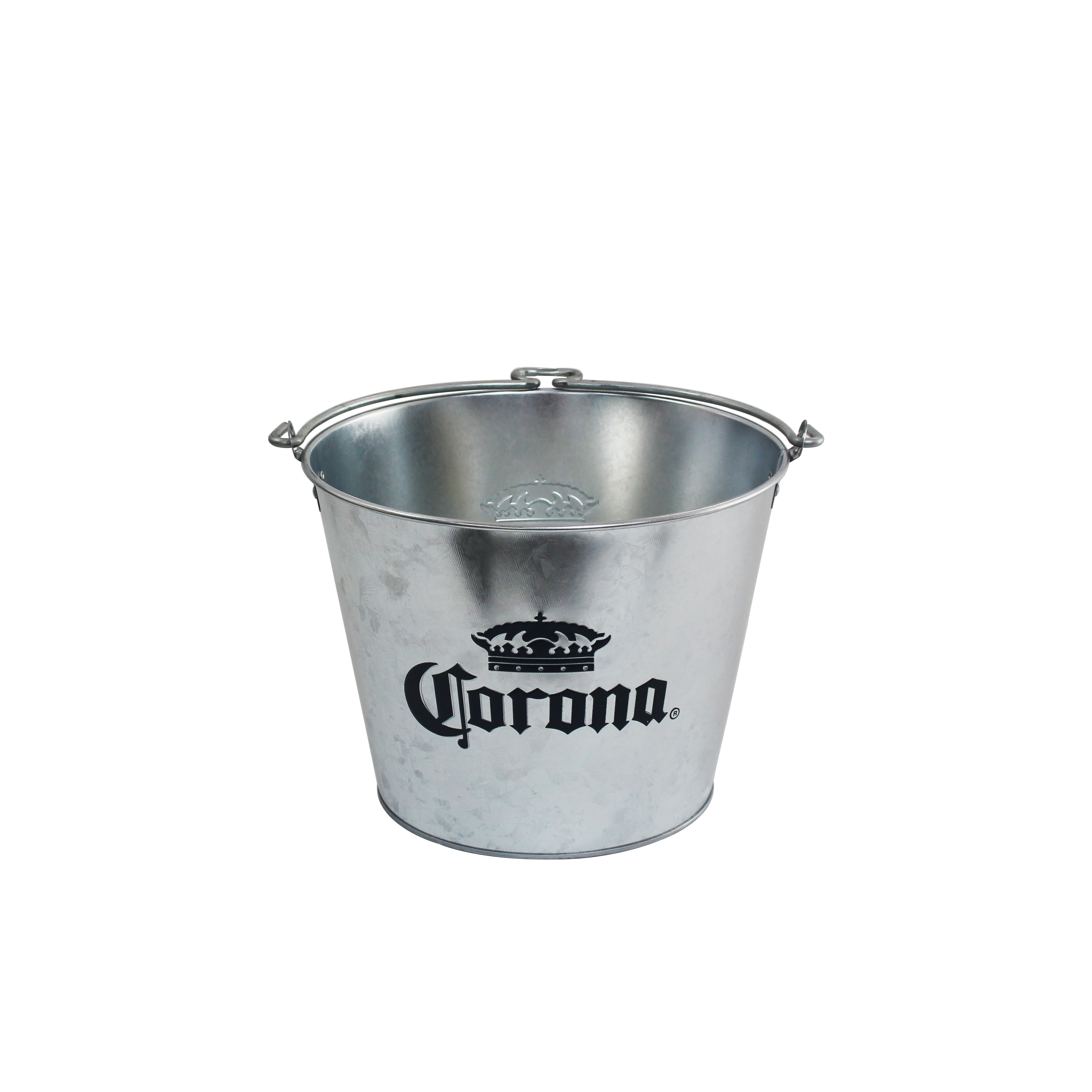 Corona Galvanized Beer Bucket