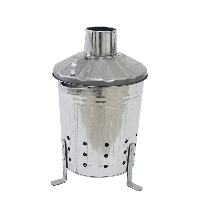 Galvanized metal 12L small incinerator