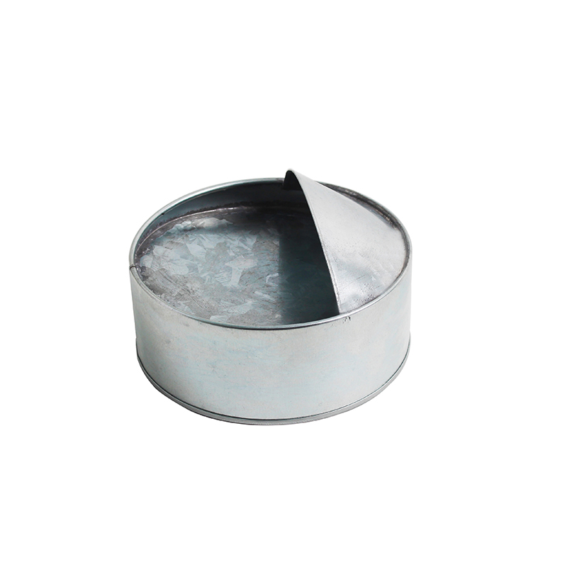 Galvanized metal Small round feed chicken feed