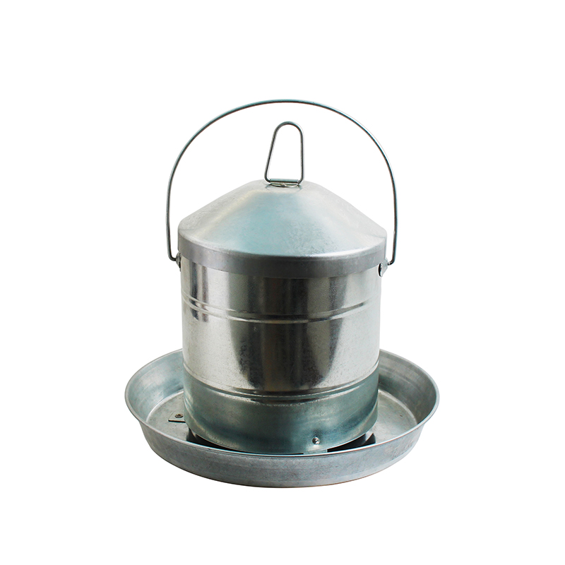 Chicken accessories galvanized metal chicken feeders for sale