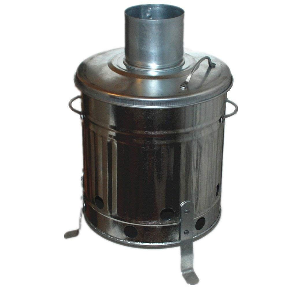 High Quality 15 Litre Home Garden Small Fire Bin Dustbin Incinerator
