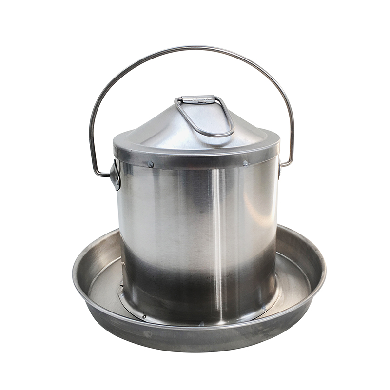 Hot sale 9L Stainless Steel chicken water feeder