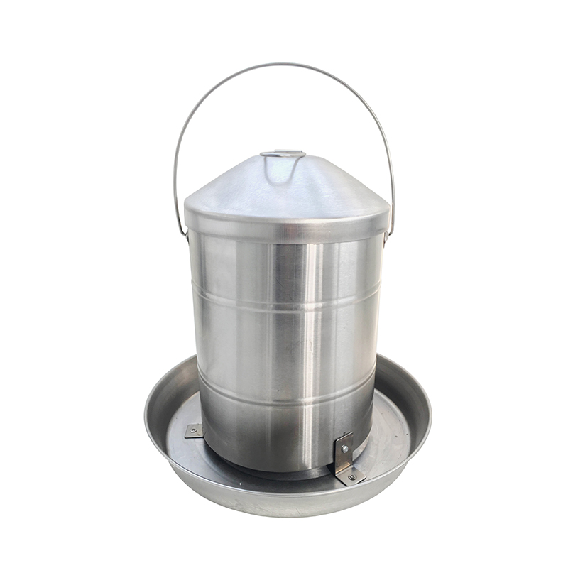 20kg Chicken suppliers stainless steel hanging handle chicken feeder