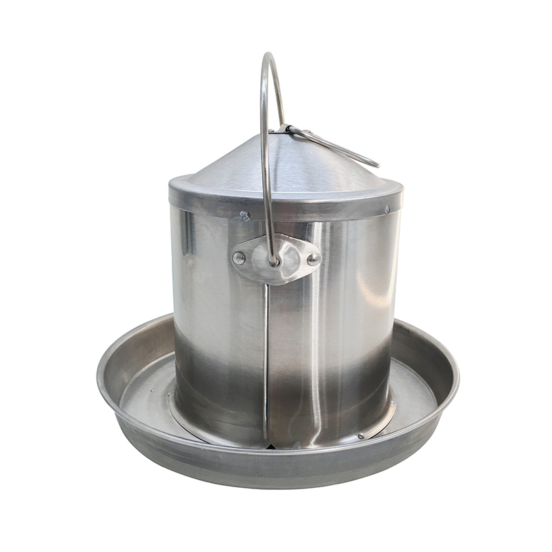 3 Litre Capacity stainless steel chicken waterer