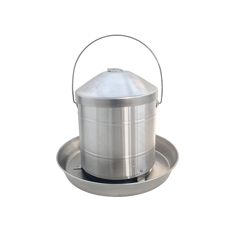 9KG Stainless Steel Hanging Poultry Feeder