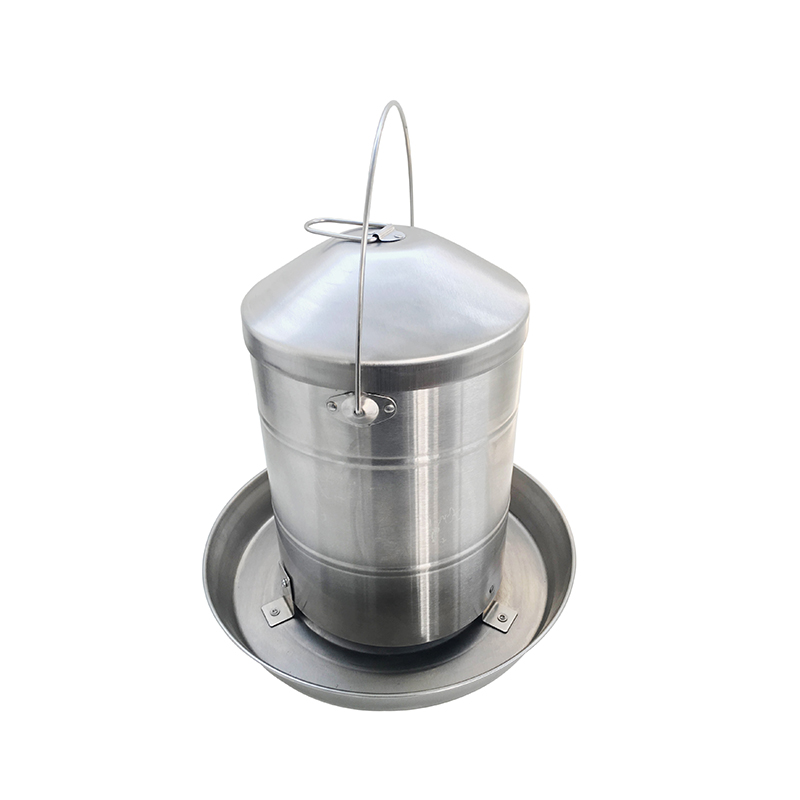 12KG Stainless Steel Hanging Poultry Feeder chook feeders