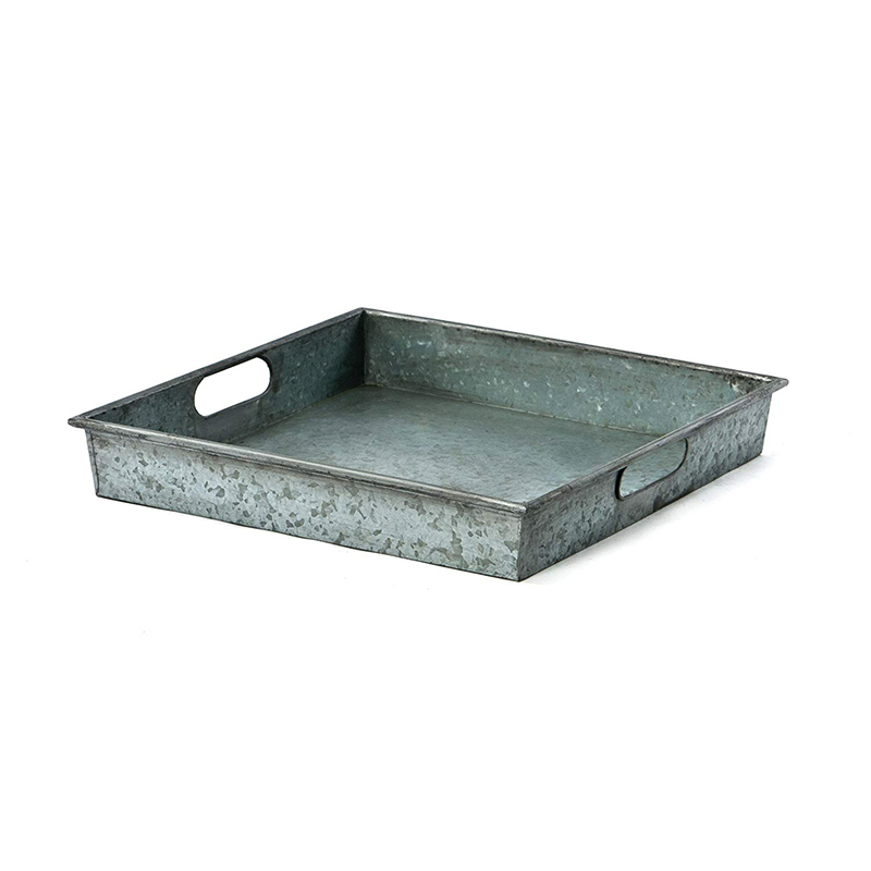 High Quality Cheap Price Square Galvanized Tray For Sale
