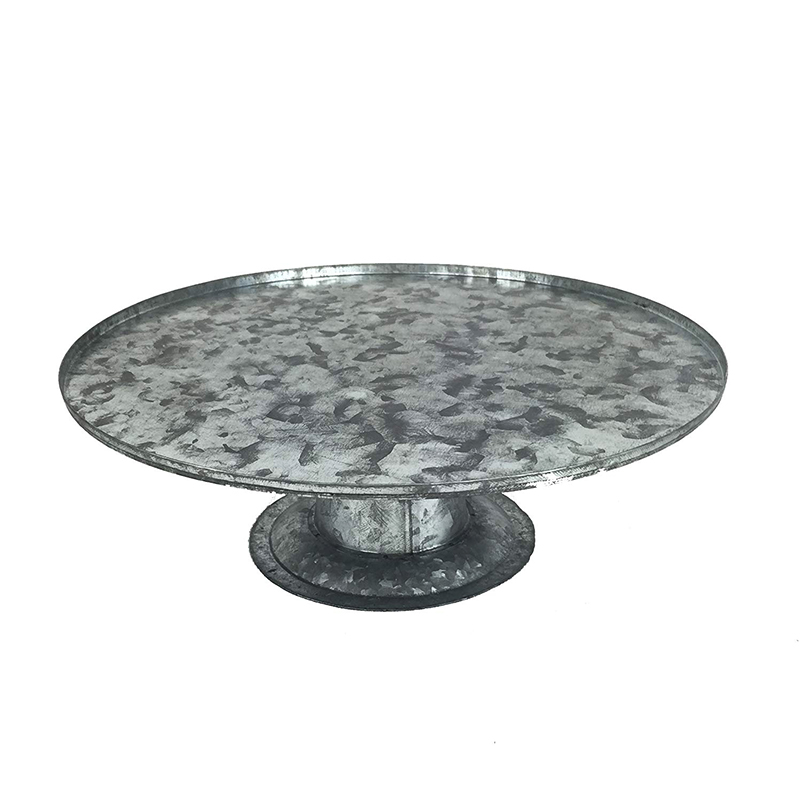 Company Style Galvanized Steel Metal Cake Holder