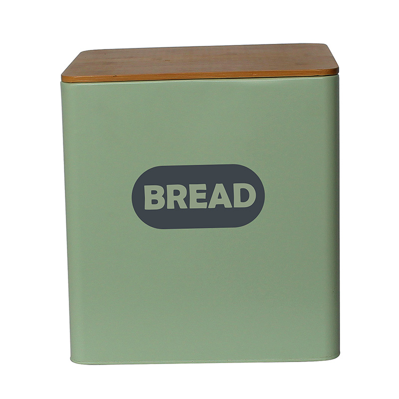 High quality cheap price metal bread box and canister set