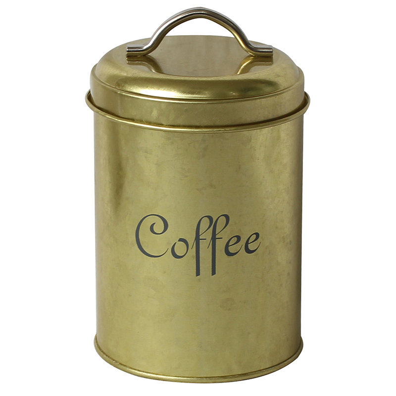 Mif brand FSC & BSCI approved manufacturer Metal Coffee Storage Container