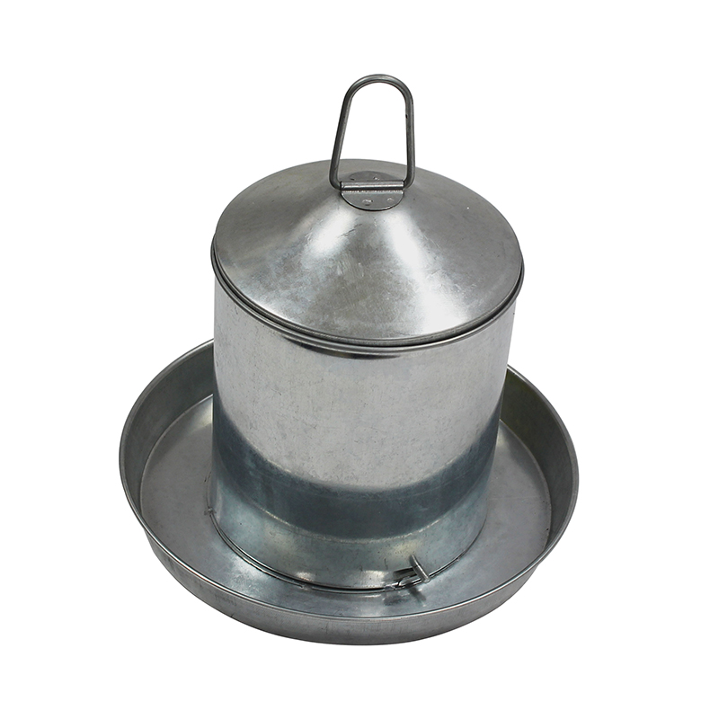 High Quality Small Metal 2L chicken poultry drinker