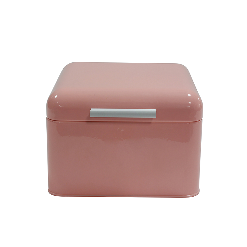 Pink Housewares Metal First Aid Medicine Storage Box