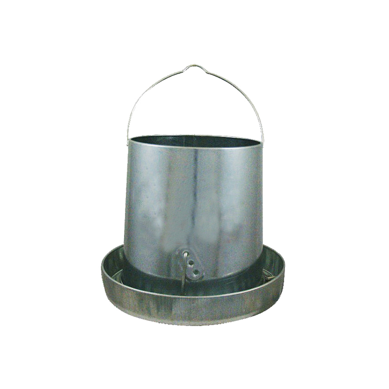 15lb Galvanized Metal Chicken Feeder