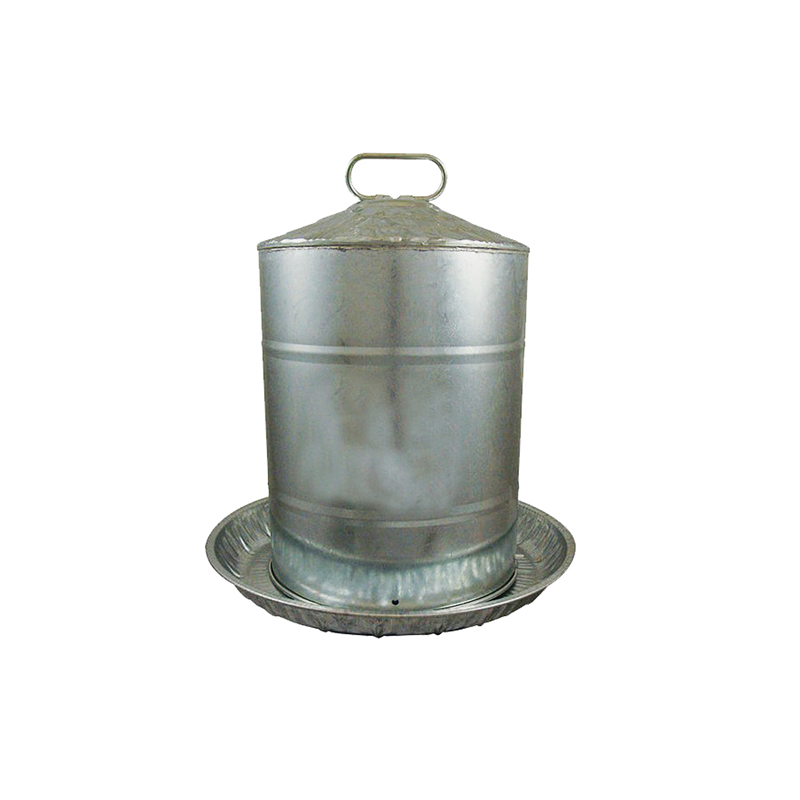 5 gallon Metal Double Wall Poultry Drinker