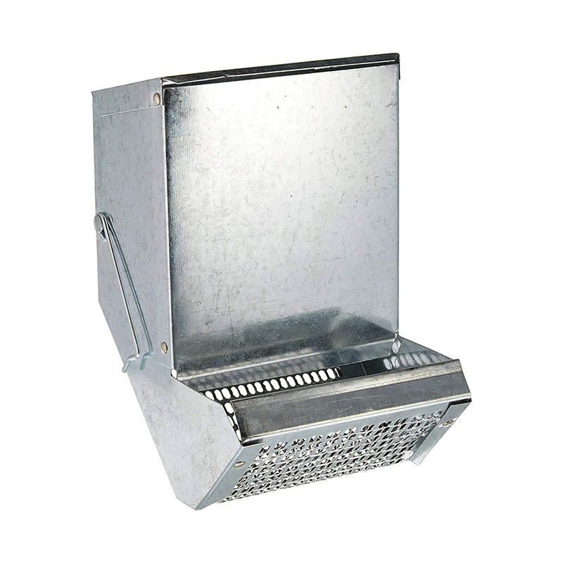 Galvanized Steel Sifter Bird Feeder