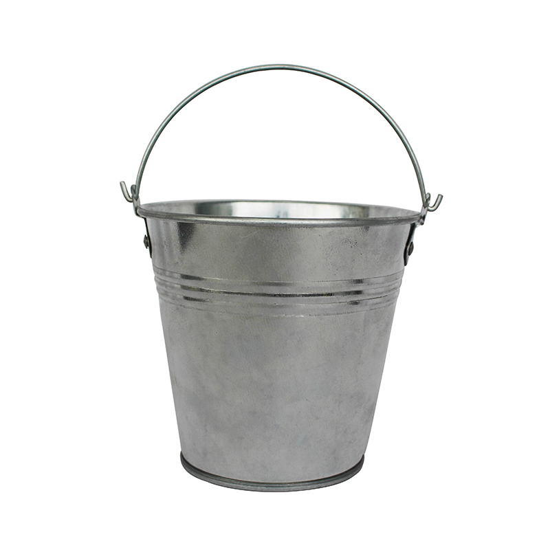 Cheap Price Galvanized steel small 1L sliver bucket with handle