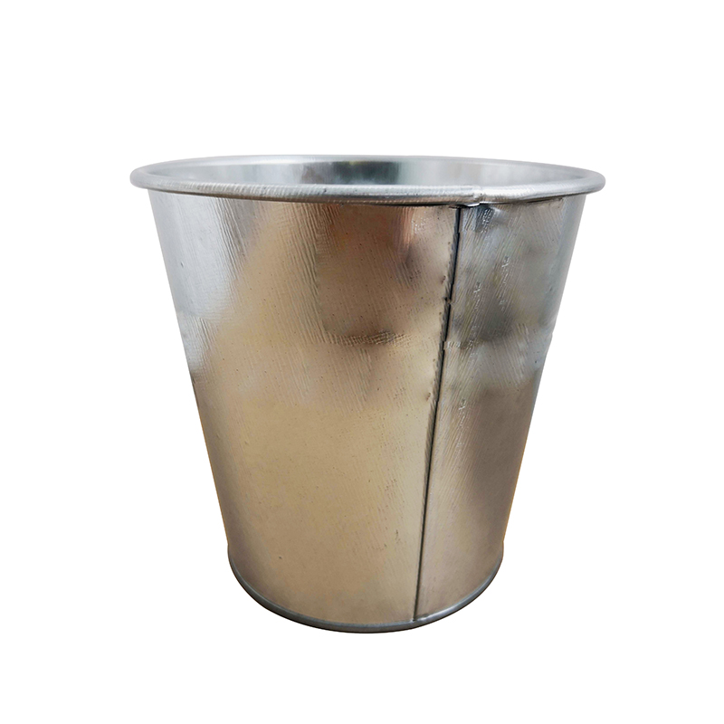 Sliver Galvanized steel storage pail bucket for sale