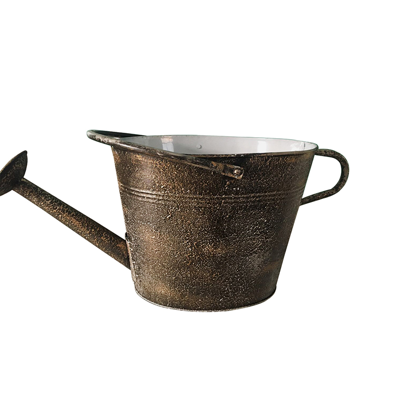 Antique Style Home Garden Rustic Zinc Watering Can