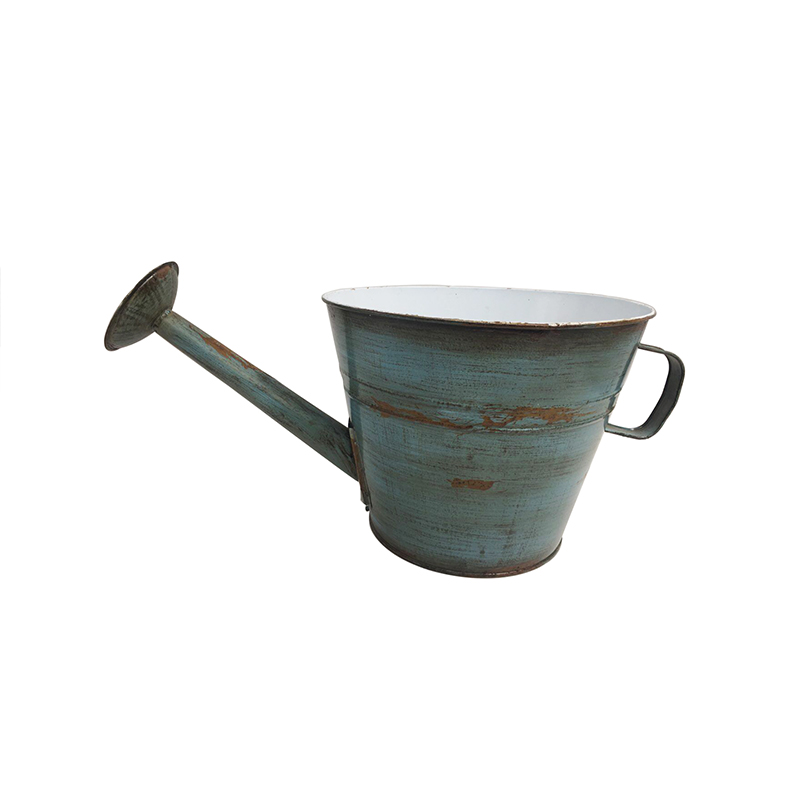 Old Fashioned Galvanized Country Antique Finish Farmhouse Watering Can