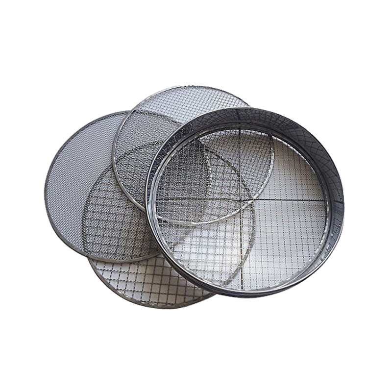 4 Interchangeable Mesh Sizes Garden Riddle Steel Garden Potting Mesh Sieve