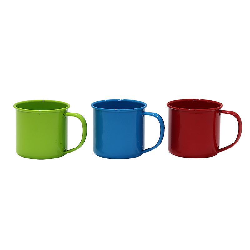 Personalised colored Party Camping Travel Picnic Fishing cheap price enamel mug