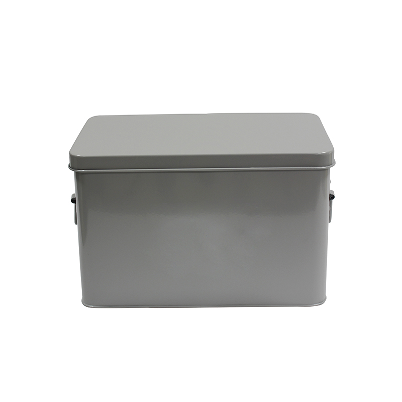 Powder-coated finish Vintage Metal Housewares First Aid Medicine Storage Box