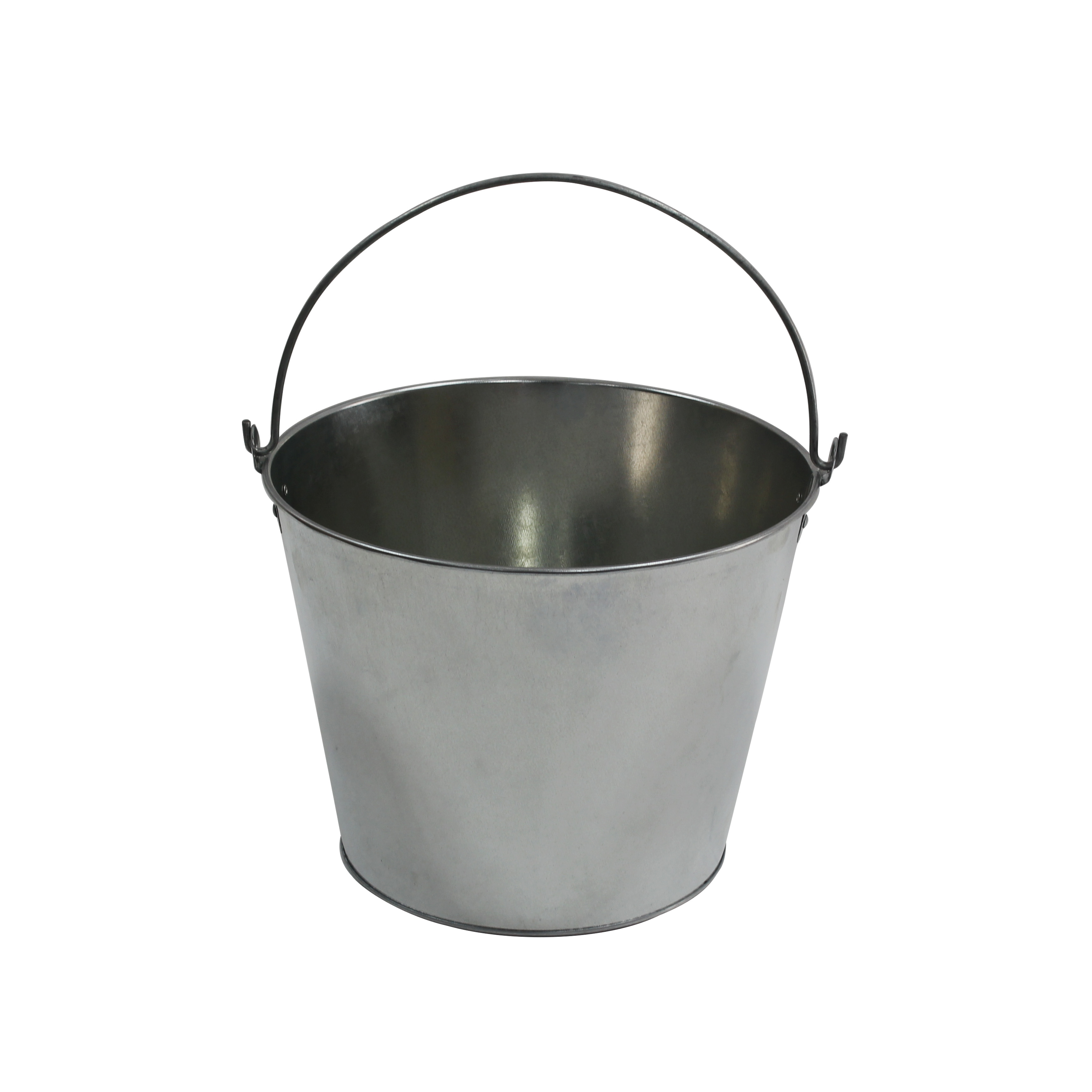 wholesale square 5 gallon custom silver wine beer metal ice buckets