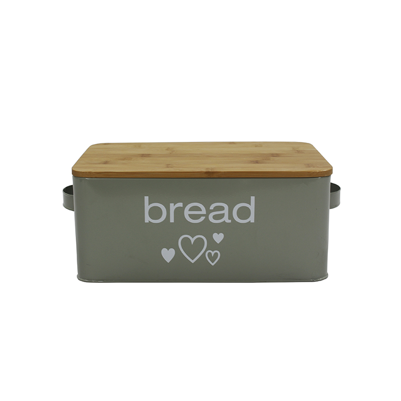 Bread Box for Kitchen,  Bread Bin, Bread Holder with Bamboo Lid