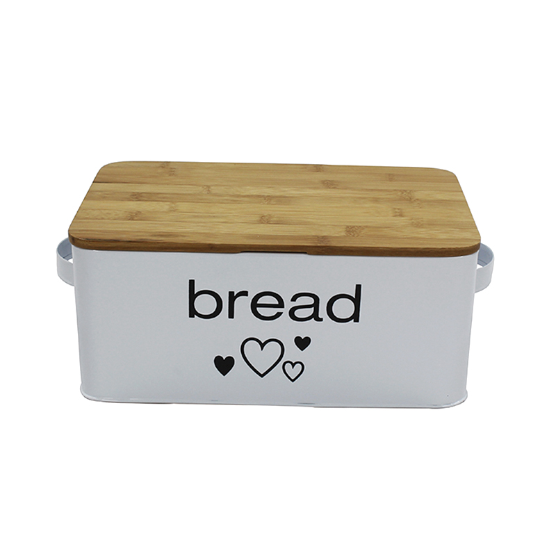 Large White Bread Box - Extra Large Storage Container for Loaves, Bagels, Chips &