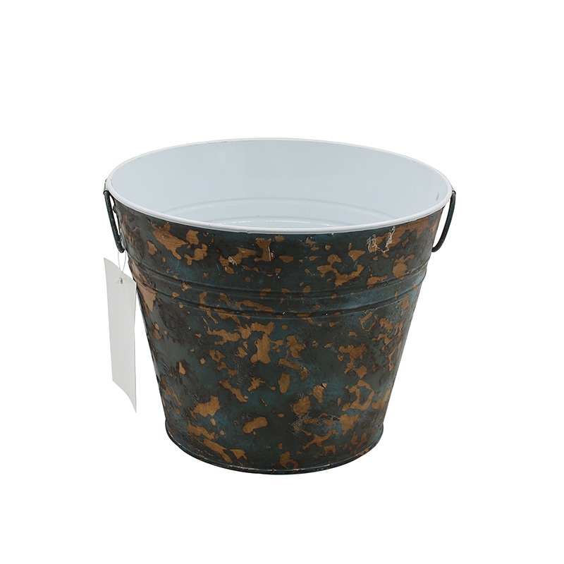 Farmhouse Kitchen Rustic French Bucket For Decoration