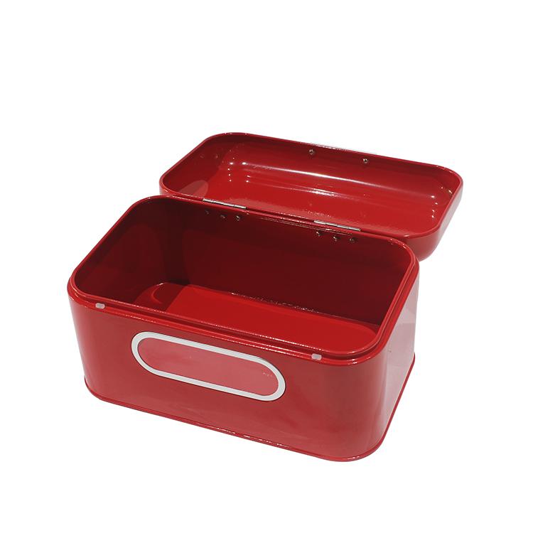Modern Metal Steel Farmhouse Kitchen Bread Box Jiangmen Yuansheng Hardware Co