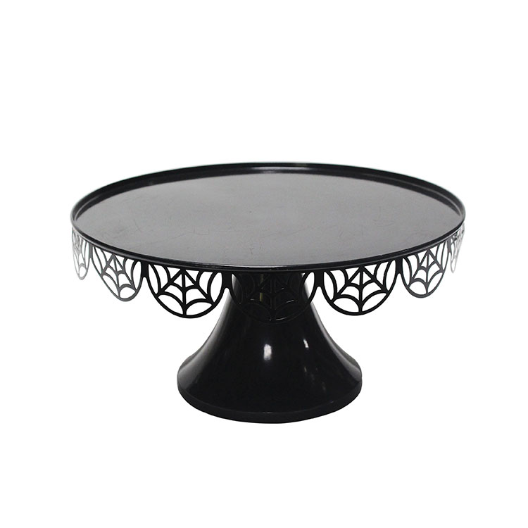Round Metal Dessert Display Cake Stand