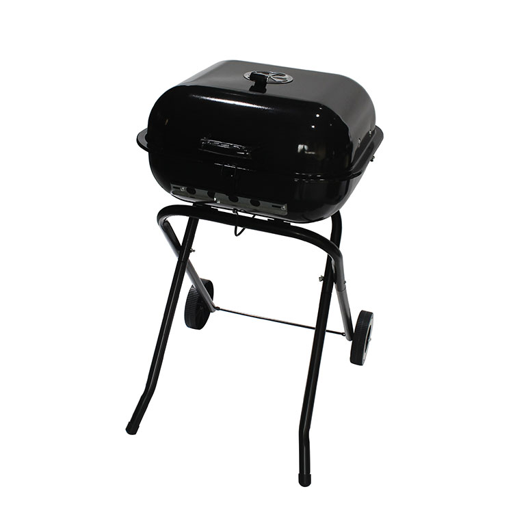 Heat Control Camping Patio Backyard Picnic Outdoor Portable Barbecue Charcoal Gri