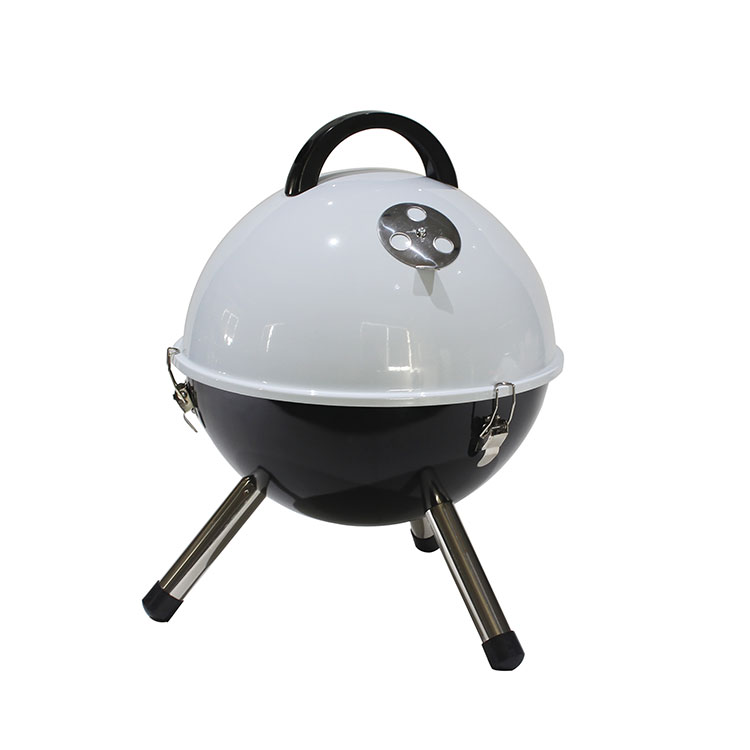 Mini Portable Camping Patio Backyard Picnic BBQ 14'' tabletop Charcoal Grill