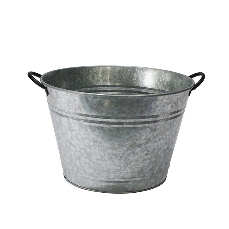 Galvanized Iron Steel Round Holds So, Round Beverage Tub