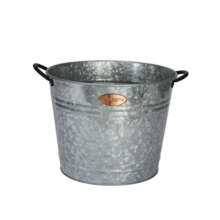 Galvanized Metal Wine Bottle Champagne Beer Cooler Bucket