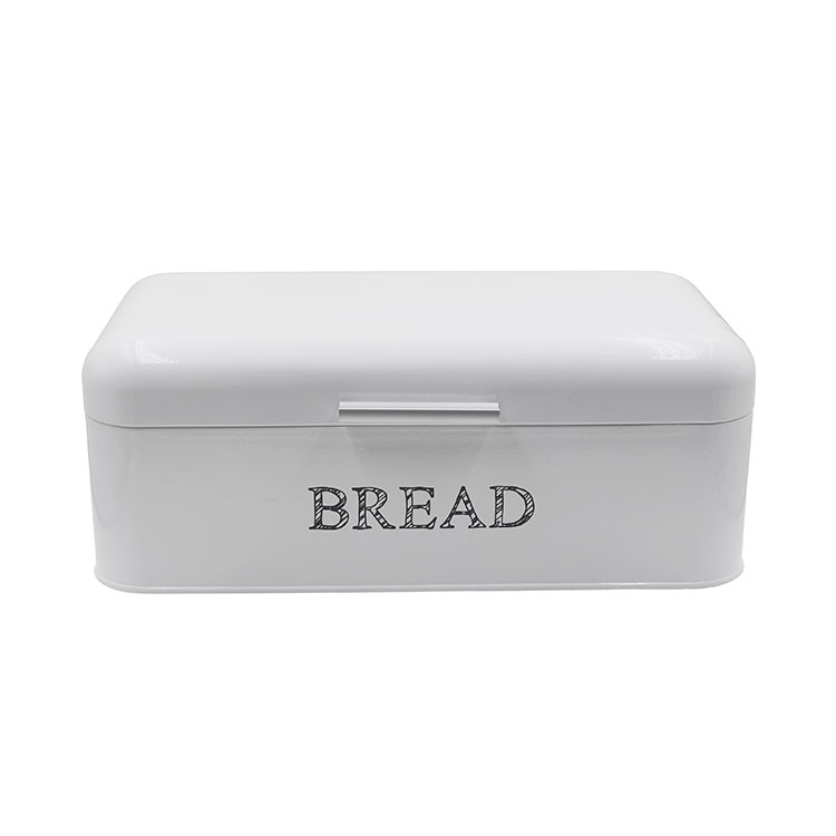 White Bread Box Extra Large Storage Container for Loaves, Bagels, Chips